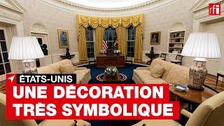 Biden à la Maison blanche : une décoration très symbolique