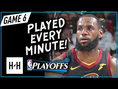LeBron James Full 1st Half Highlights vs Celtics in Game 6 | 2018 Playoffs ECF - 25 Pts, NO REST!