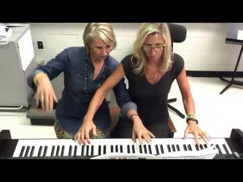 "Not Your Mama's ""Sleigh Ride""! (Fun piano duet)"
