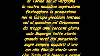 Cori Juve Anti Torino - Toro Merda