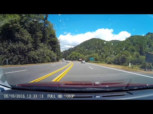 Driving on the 101 -  Klamath Glen, CA