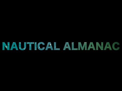 Notik Almanak Kullanımı / How to Use Nautical Almanac (HD)