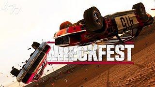 Überall fliegende Autos! Pinball + Moongravity! - WRECKFEST | Wreckfest Mods