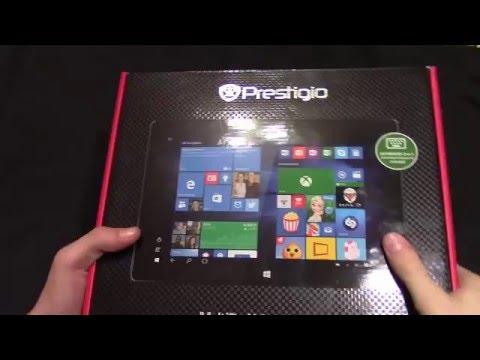 Распаковка планшета Prestigio multipad visconte 4u
