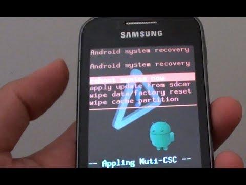 Hard Reset Samsung Galaxy Y S6102 (Easy Instructions)