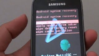 Hard Reset Samsung Galaxy Y S6102 (Easy Instructions)