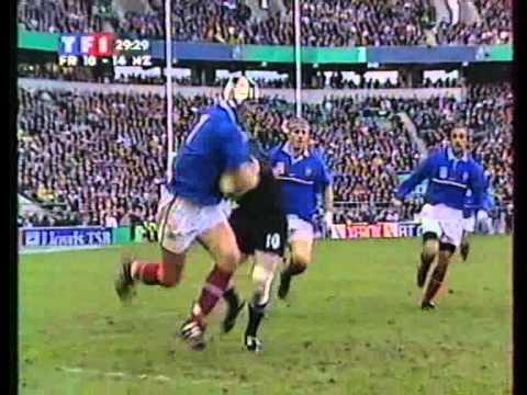 Rugby coupe du monde 1999 la demi finale france vs all blacks hommage jonah lomu youtube - Rugby coupe du monde 1999 ...