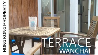 CUTE STUDIO WITH TERRACE IN QUIET WANCHAI LOCATION