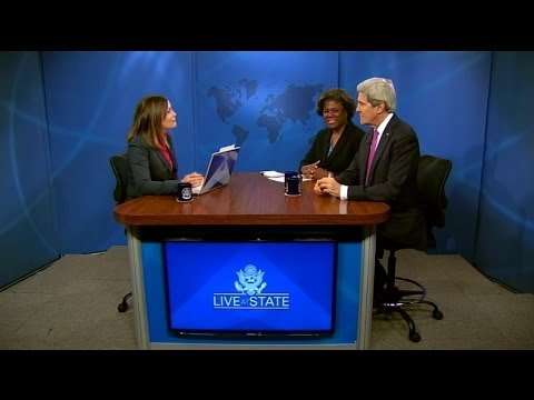 Assistant Secretary Thomas-Greenfield Participates in a LiveAtState on U.S. Africa Policy