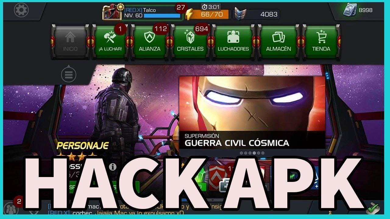 hack marvel batalla de superheroes 2018 android