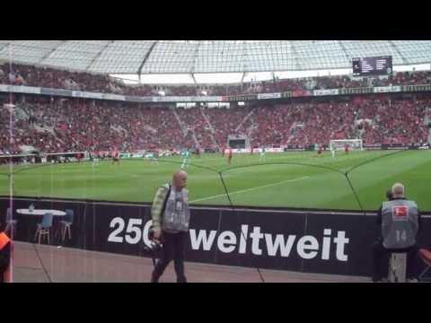 2013 RMU Germany Trip - Soccer Game - Bayer Leverkusen vs Hannover 96