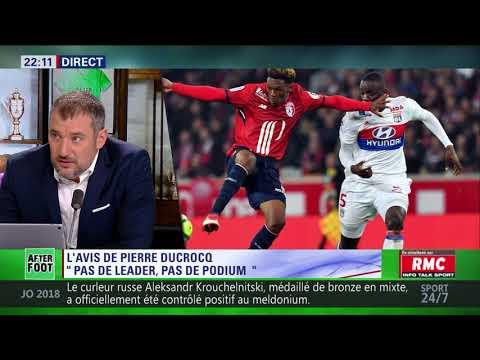 After Foot du lundi 19/02 – Partie 1/6 - L'avis tranché de Pierre Ducrocq sur l'OL