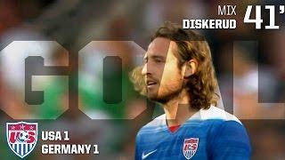 MNT vs. Germany: Mix Diskerud Goal - June 10, 2015