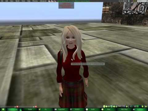 How To edit your avatar in Second life using Phoenix viewer part 1 and 2