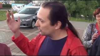 Встреча с жителями города Видное (отмена льгот на проезд)