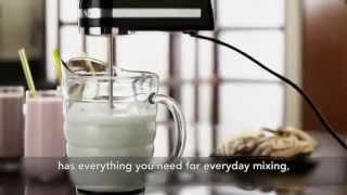 Video: Ruční šlehač P2 5KHM9212EOB černá