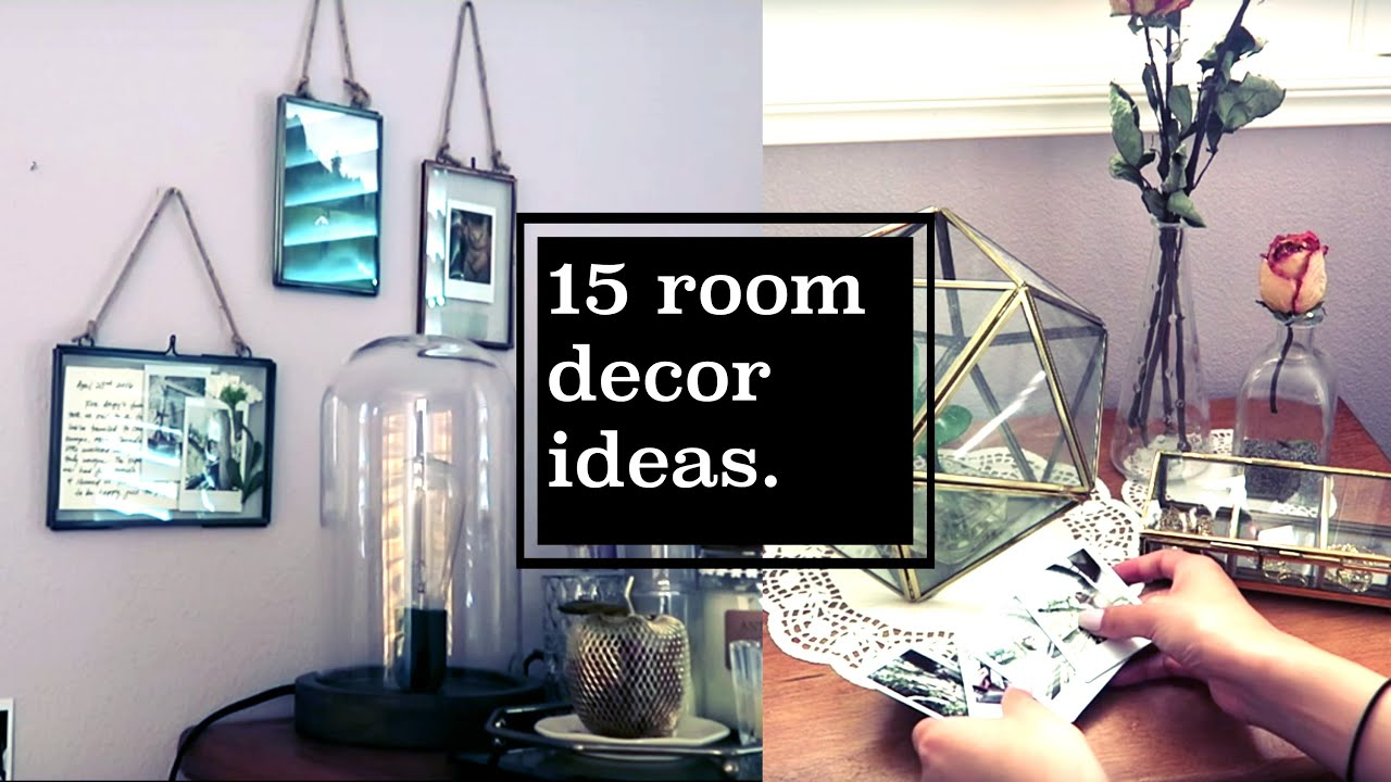 Redecorating my room 15 ideas catcreature youtube for Redecorating room ideas