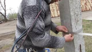 Монтаж СИП: установка крюка, работа с бандажной лентой  (перезалив)(, 2016-08-17T09:27:23.000Z)