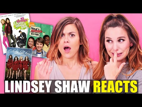 Lindsey Shaw Reacts To Pretty Little Liars & Ned's Declassified!