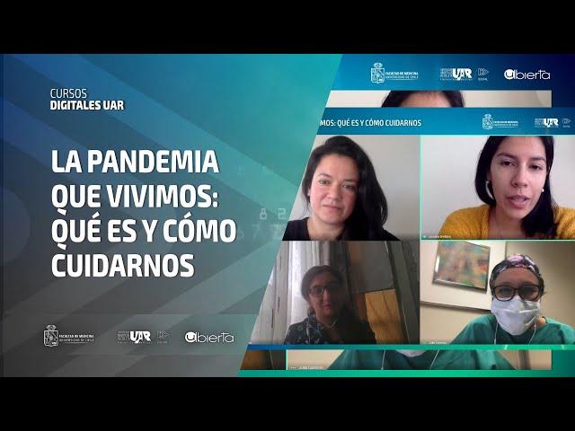 Curso La Pandemia que vivimos   Semana 3   Entrevista Académica