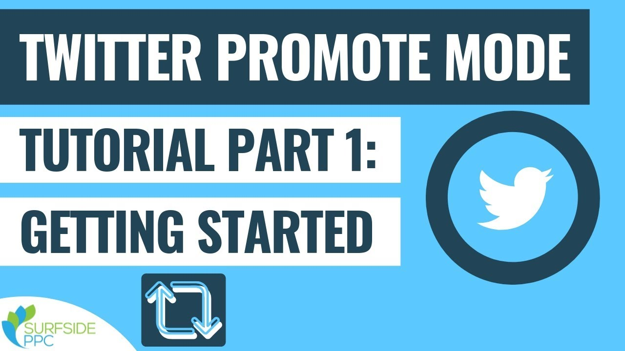 Twitter Promote Mode Tutorial Part 1 - What is Twitter Promote Mode and How to Get Started