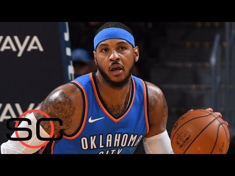 Carmelo Anthony to make Thunder debut against Knicks | SportsCenter | ESPN