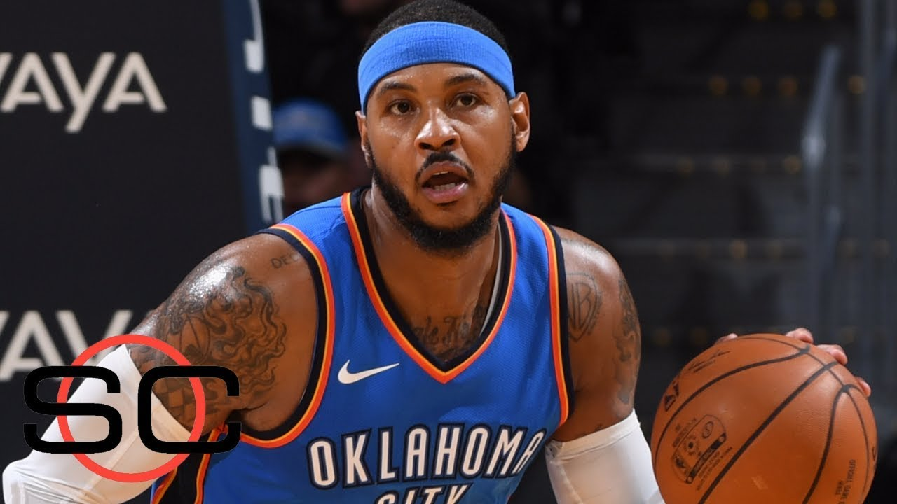 Carmelo Anthony to make Thunder debut against Knicks ...