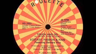 "Ecstasy Passion & Pain - Touch & Go (Original 12"" Version)"