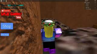 ROBLOX ADVENTURES- escaping the zombie's bum XD