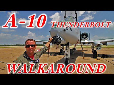 A-10 Thunderbolt Walkaround