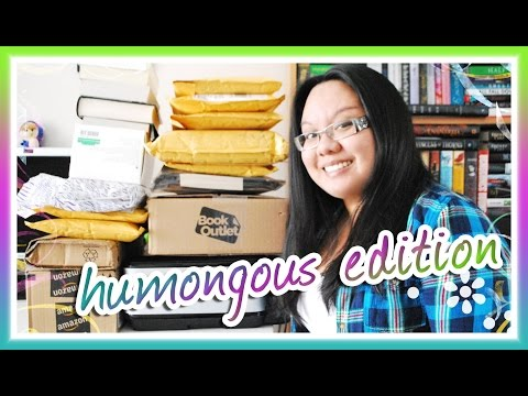 Book Haul Unboxing #92: HUMONGOUS Edition (March 2015)