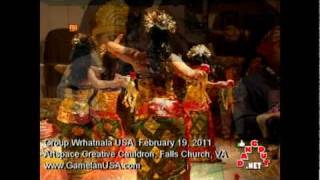 GAMELAN INDONESIA di AMERIKA, TRADITIONAL INDONESIAN MUSIC AND DANCE IN USA-WASHINGTON DC