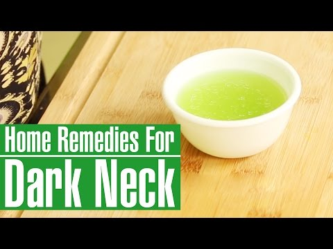 How To Get Rid Of Dark Neck & Lighten Black Neck Naturally