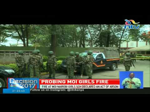 Investigators zero in on five possible suspects as Moi Girls fire probe continues