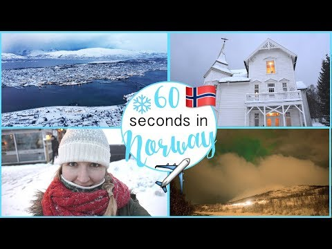 Tromso, Norway in 60 Seconds   Travel in Norway