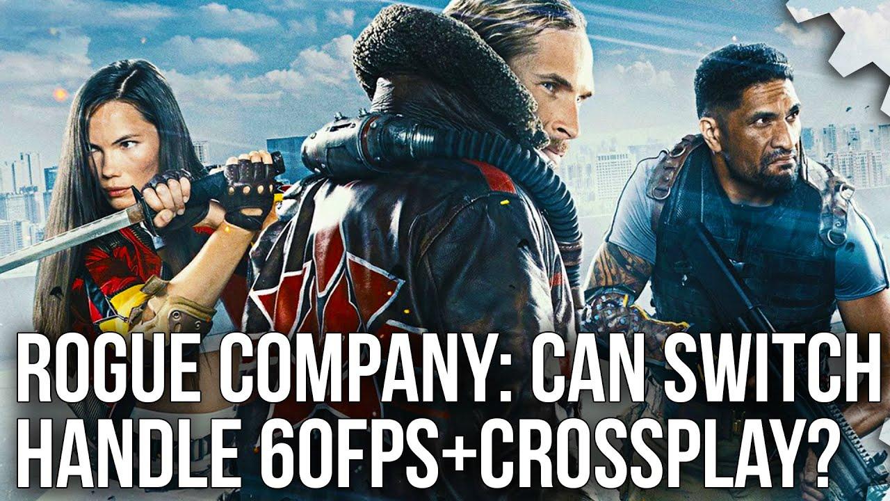 Βίντεο συγκριτικό του Rogue Company ανάμεσα στο Switch και τις άλλες κονσόλες