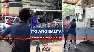 UNTV Ito Ang Balita November 11 2019
