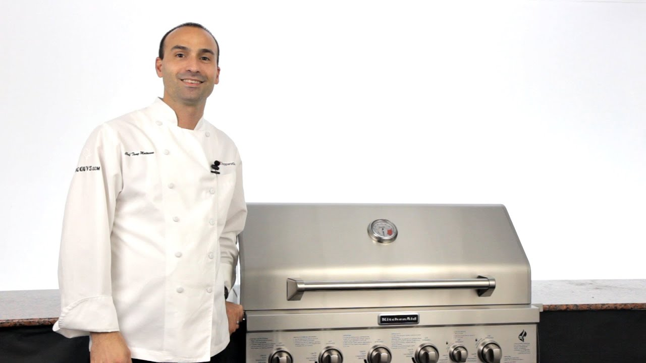 KitchenAid Gas Grill Overview   YouTube