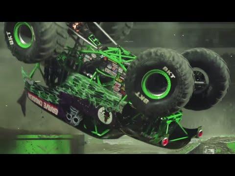 Monster Jam Anaheim Highlights - Stadium Championship Series 1 - Jan 14, 2018