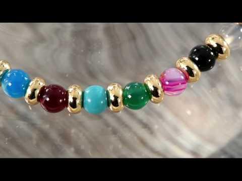 Lola Rose London Beaded Adjustable Bracelet on QVC