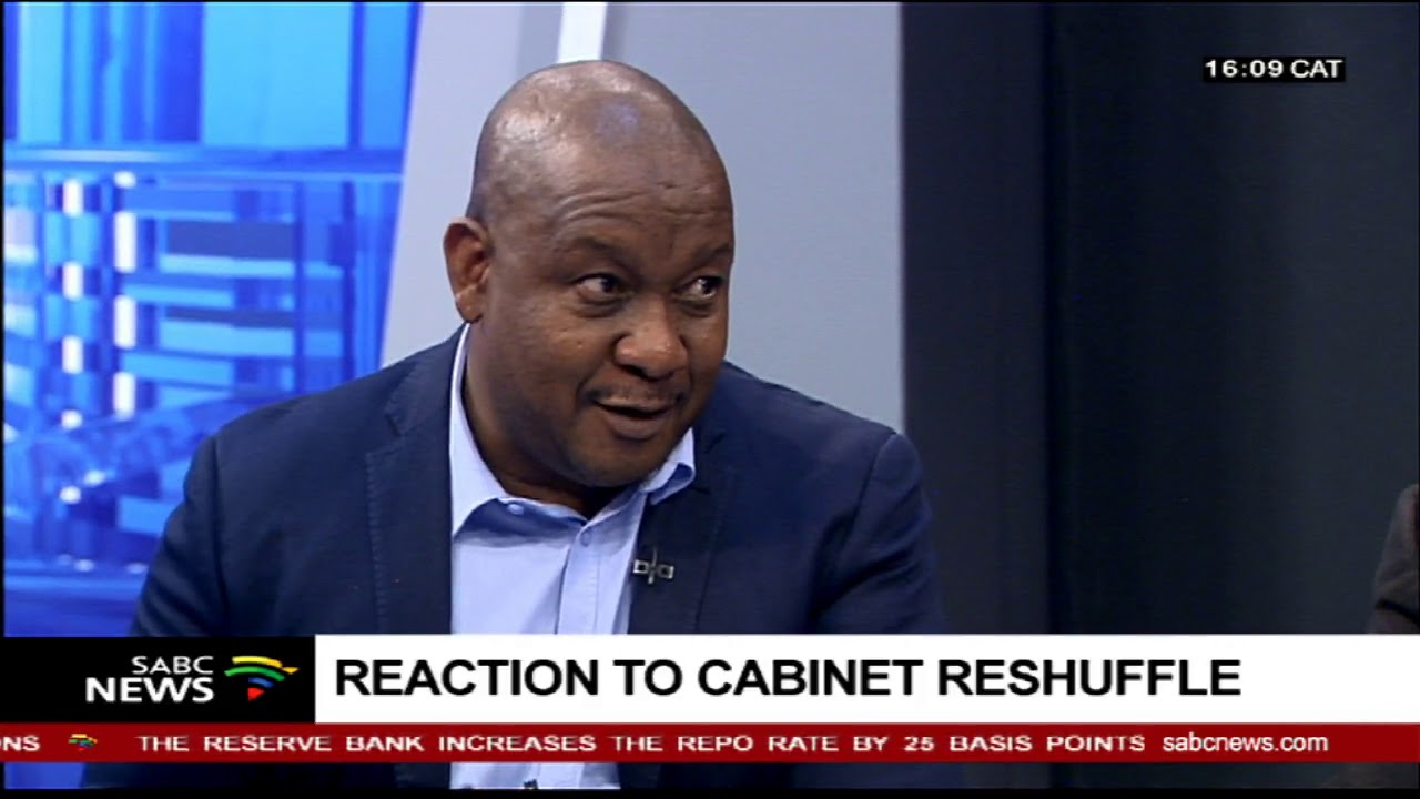 Reaction to cabinet reshuffle