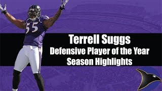 Terrell Suggs Defensive Player of the Year Season (2011) Baltimore Ravens Highlights