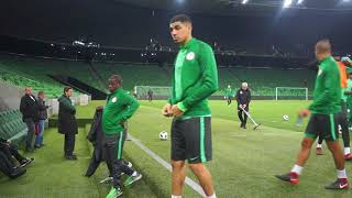 SuperEagles 2nd Training Session In Russia Ahead Of The Friendly Match Against Argentina  13/11/2017