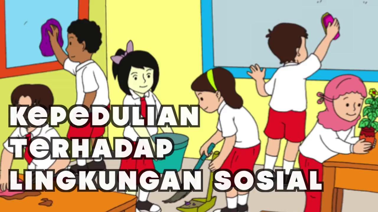 Kelas 03 Tema 4 Subtema 3 Kepedulian Terhadap Lingkungan Sosial