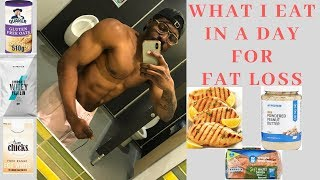What I Eat In A Day For Fat Loss  Full Day Of Eating Ep 02