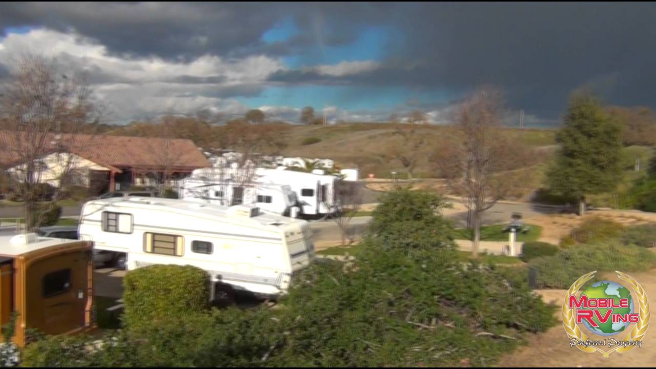 Wine Country Rv Resort Paso Robles California Youtube