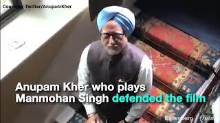 Political Slugfest Over 'Accidental Prime Minister' Movie #BQ