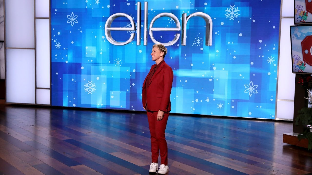 Ellen Shares Fitness Inspo from Chris Hemsworth and Average Andy