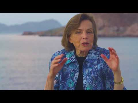 Sylvia Earle visits the Gulf of California Hope Spot