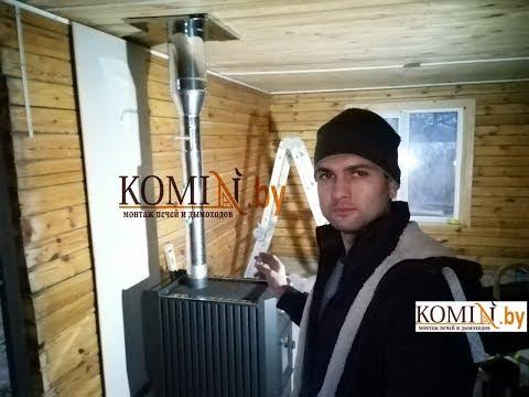 Дымоход на даче с особенностями при монтаже + установка печи